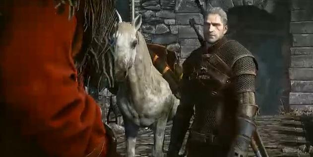 O vídeo de The Witcher 3 Wild Hunt foi apresentado pela Microsoft na E3 2013 (Foto: Reprodução/Microsoft)