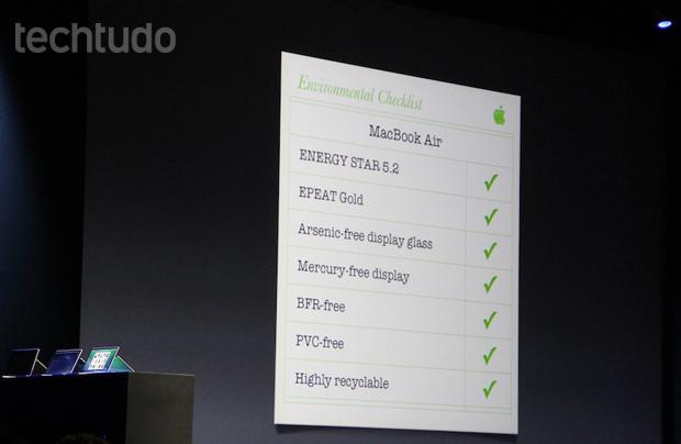 Novidades acerca do novo MacBook (Foto: Fabrício Vitorino)