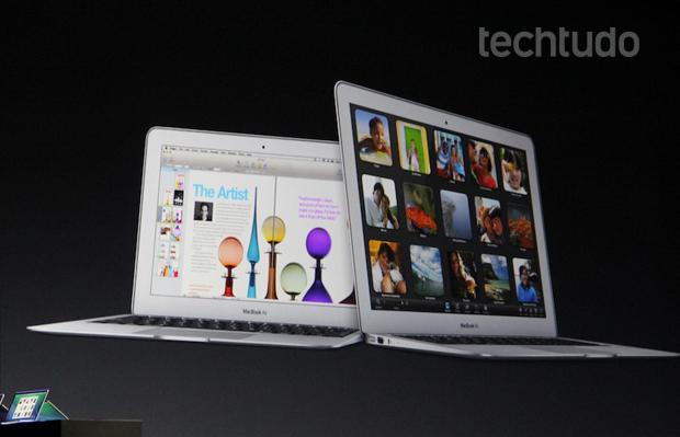Novo MacBook Air (Foto: Fabrício Vitorino)
