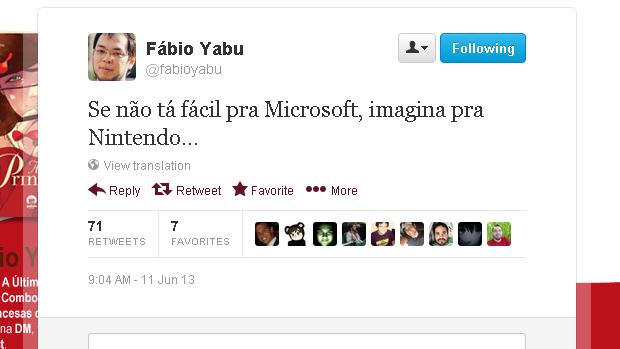 @fabioyabu (Foto: Reprodução)