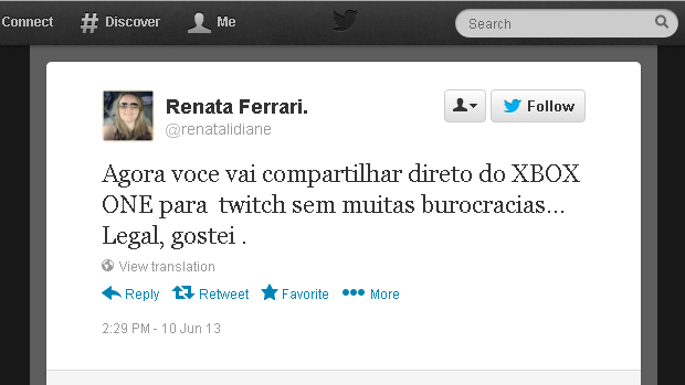 @renatalidiane (Foto: Reprodução)