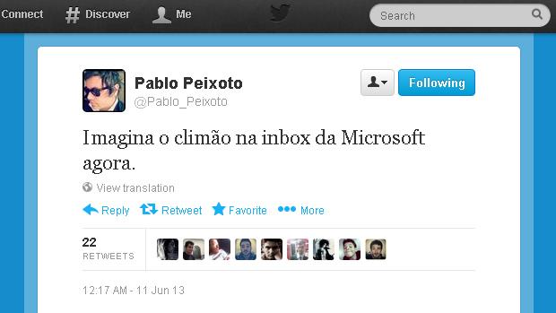 @Pablo_Peixoto (Foto: Reprodução)