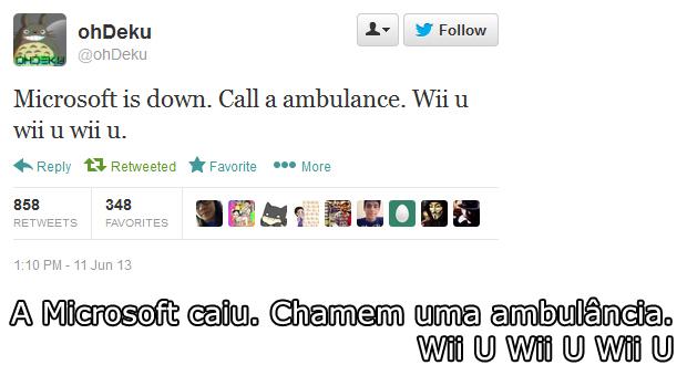 @ohDeku foi destaque internacional com sua piada sobre a Microsoft (Foto: Reprodução)