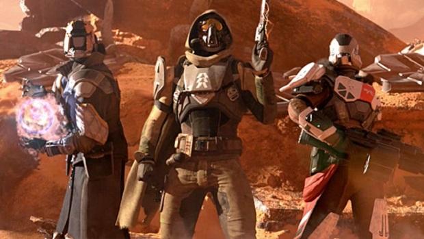 O belo visual dos personagens de Destiny (Foto: Divulgação)
