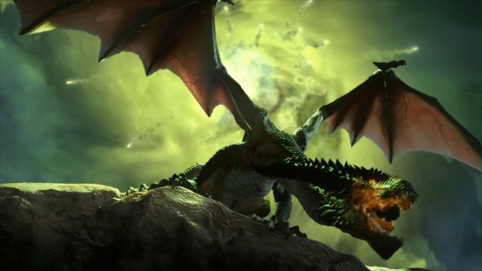Um dos dragões de Dragon Age: Inquisition (Foto: Divulgação)