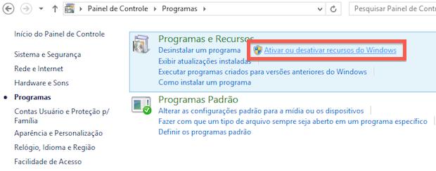 Desinstalando programas nativos do Windows (Foto: Reprodução/Helito Bijora)
