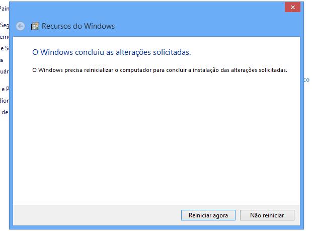 Internet Explorer será removido após reinício (Foto: Reprodução/Helito Bijora)