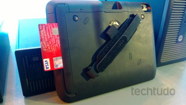 HP ElitePad (Foto: TechTudo/Allan Melo)