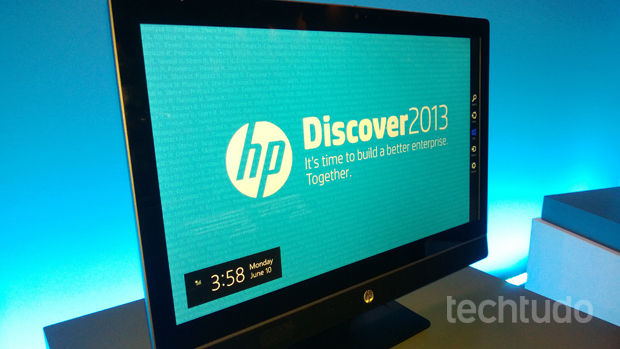 HP Discover 2013 acontece em Las Vegas (Foto: TechTudo/Allan Melo)