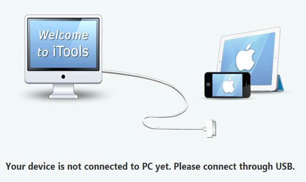 Utilize o iTools para transferir suas músicas para o PC (Reprodução/ Guilherme Godin)