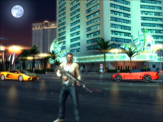 """Gangstar Vegas é um """"GTA"""" que se passa na cidade de Las Vegas (Foto: Divulgação)"""