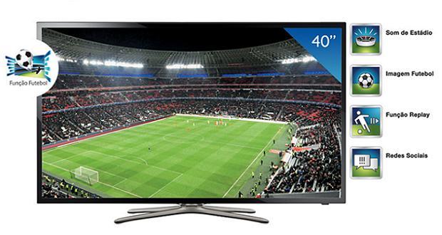 """Linha 2013 de TVs da Samsung tem """"Função Futebol"""" com quatro novos recursos (Foto: Divulgação)"""