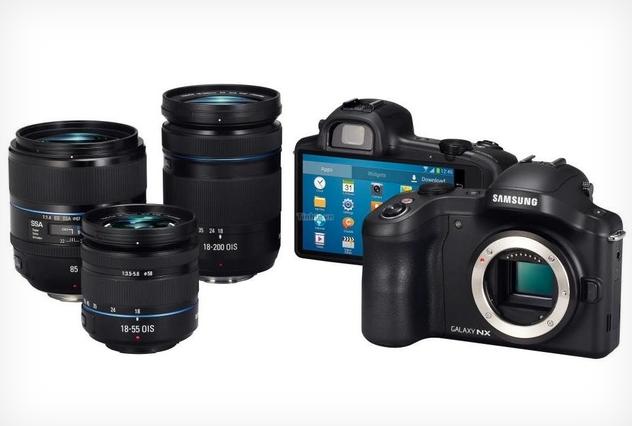 Galaxy NX, a câmera mirrorless Android da Samsung (Foto: Divulgação)