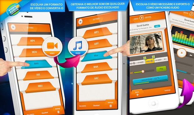 Exporte áudio a partir de vídeos com o VIDEO-TO-AUDIO Converter (Foto: Divulgação)