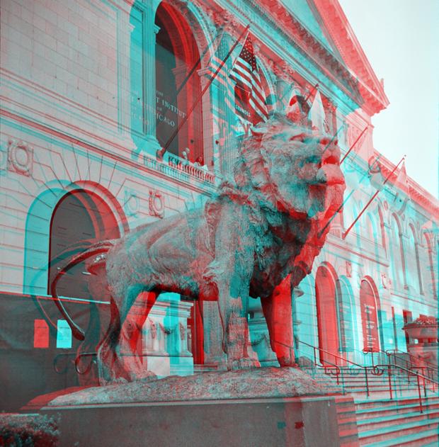 Exemplo de imagem em 3D (Foto: Reprodução)