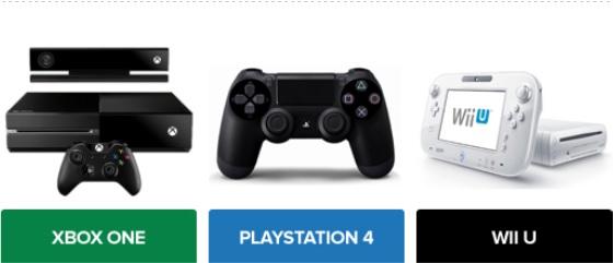 Xbox One, PS4 e Wii U são as apostas da nova geração (Foto: TechTudo)