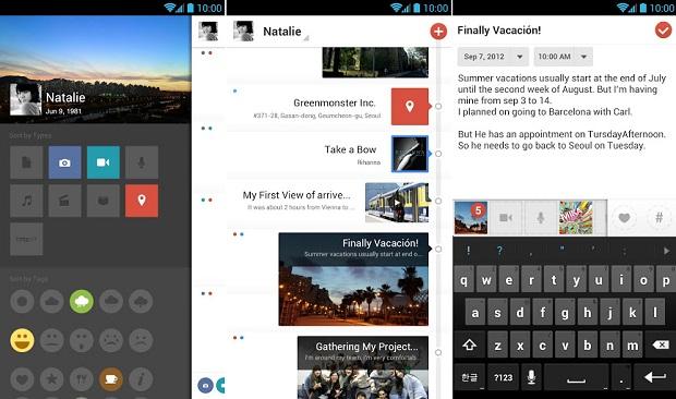 Flava é um aplicativo bastante completo para fazer anotações (Foto: Divulgação)