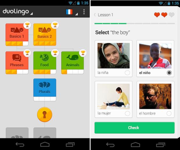 App de ensino de idiomas é bem prático e divertido (Foto: Divulgação)