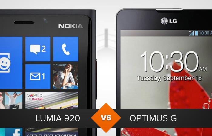 Lumia 920 ou Optimus G: qual leva a melhor? O TechTudo analisa (Foto: Arte/TechTudo)