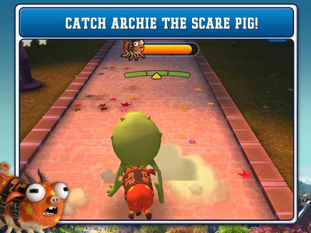 """""""Catch Archie"""" é o jogo do novo filme da Pixar """"Monter U"""" (Foto: Divulgação)"""