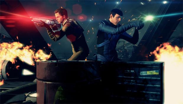 Nova série de filmes também inspirou um jogo com Kirk e Spock (Foto: Divulgação)