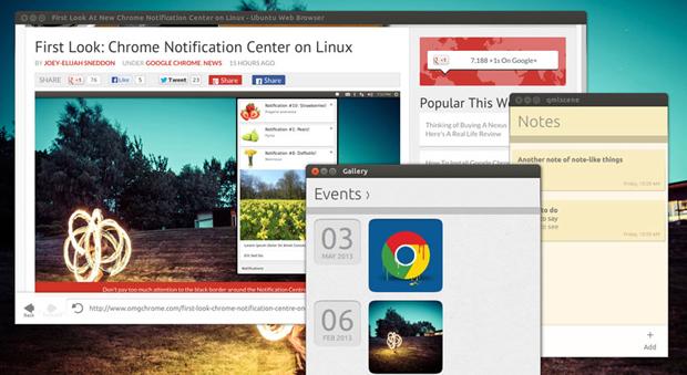 Aplicativos do Ubuntu Touch podem ser usados na versão desktop (foto: Divulgação)