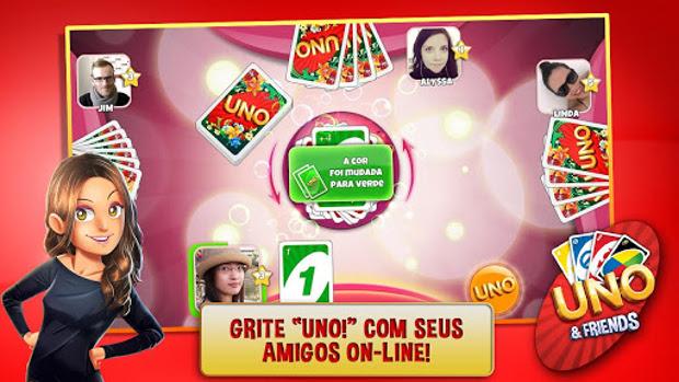 Uno & Friends tem integração ao Facebook e multiplayer online (Foto: Divulgação)