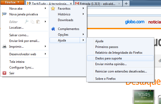 Removendo o Halo123 do Firefox (Foto: Reprodução/Edivaldo Brito)