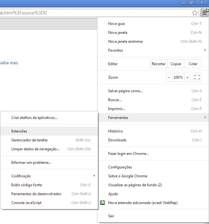 Localizando o Halo123 no Chrome (Foto: Reprodução/Edivaldo Brito)