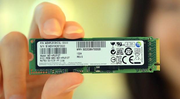SSD da Samsung é mais fino e mais potente (Foto: Reprodução/Engadget)