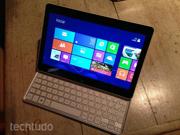 SlidePad chega ao Brasil por R$ 2.499 e traz Windows 8 (Foto: André Fogaça/TechTudo)