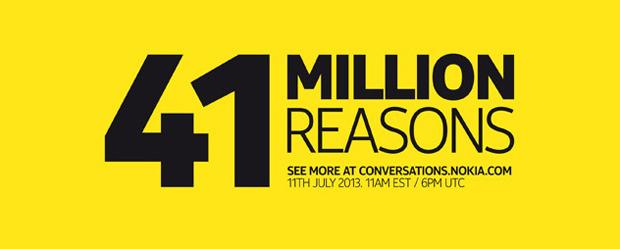 Nokia publicou banner para o evento do dia 11/07 e da pistas sobre o EOS (Foto: Divulgação)