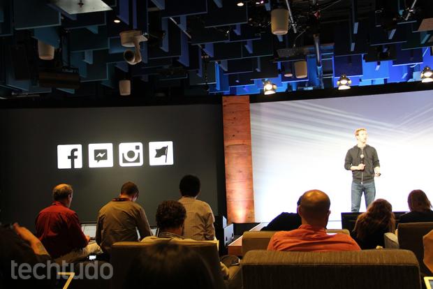 Mark Zuckerberg no evento Instagram (Foto: Fabricio Vitorino/TechTudo)