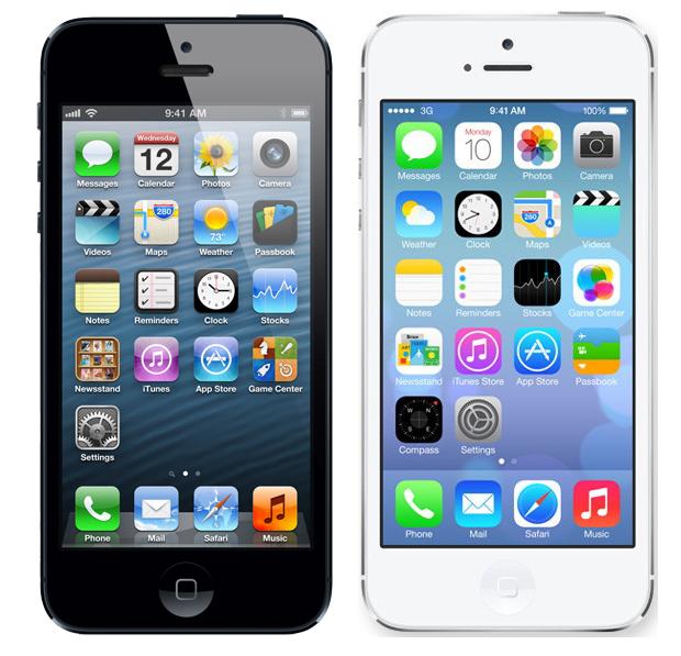 iOS 6 e iOS 7 (Foto: Arte/Divulgação)
