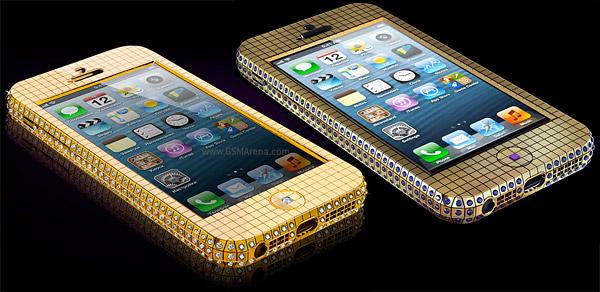 iPhone 5 de luxo custa cerca de R$ 200 mil (Foto: Divulgação)