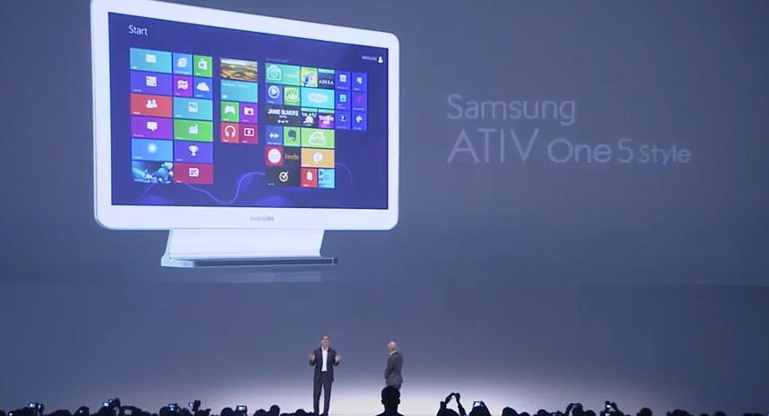 Samsung Ativ One 5 style (Foto: Divulgação)