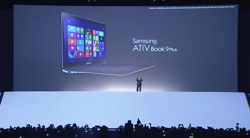 Samsung lança linha de notebook, Ativ Book 9 (Foto: Reprodução)