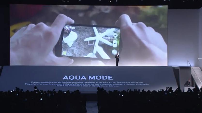 Galaxy S4 Active pode tirar fotos embaixo d'água (Foto: Reprodução)