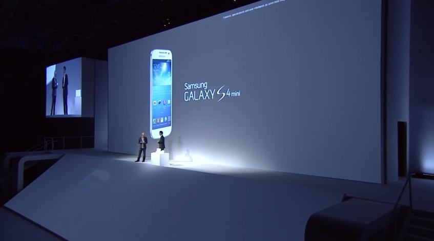 Galaxy S4 mini é a versão menor e mais barata do S4 original (Foto: Reprodução)