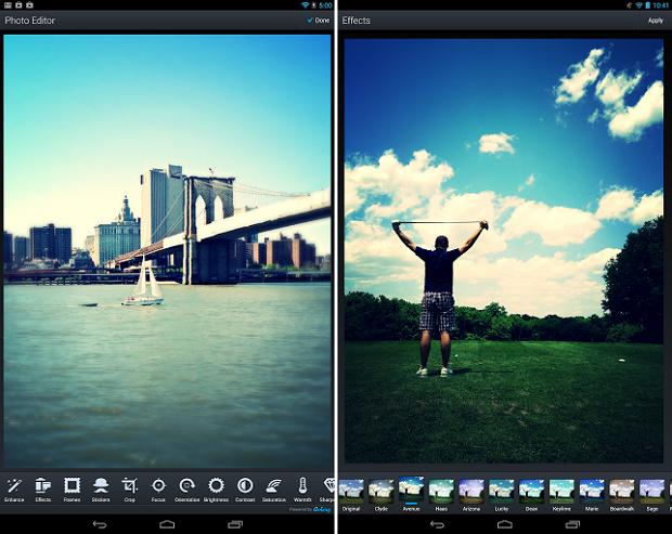 Aviary é um ótimo editor de imagens para Android (Foto: Divulgação)