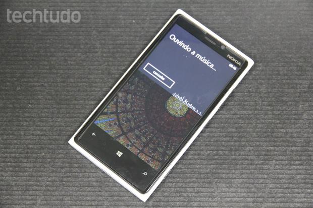 Bing Music, serviço de identificação de canções, finalmente chegou ao Windows Phone brasileiro (Foto: Elson de Souza/TechTudo)