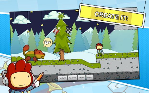 Teste sua criatividade em Scribblenauts Remix para Android (Foto: Divulgação)