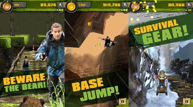 """Jogo do Bear-Grylls para Android surpreende como um dos melhores """"Temple Run"""" (Foto: Divulgação)"""