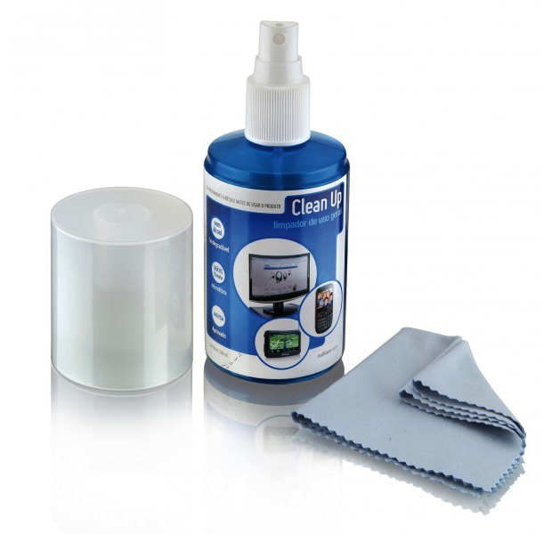 Kit de limpeza de telas são indicados para a realização dessas tarefas (Foto: Reprodução)