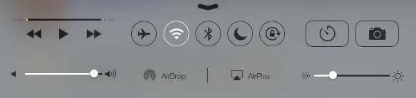 Control Center no iPad fica com este aspecto (Foto: Reprodução/Mac Rumors)
