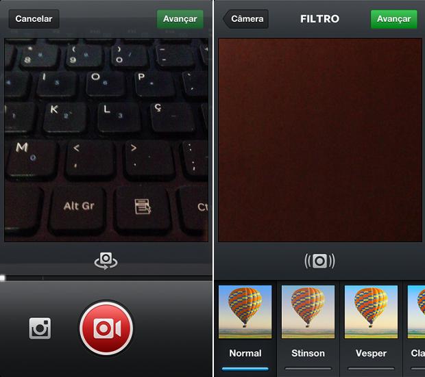 Instagram tem estabilizador de vídeos no iOS (Foto: Reprodução/Thiago Barros)