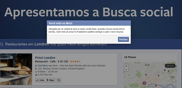 Saiba como habilitar a busca social (graph search) do Facebook (Foto: Reprodução)