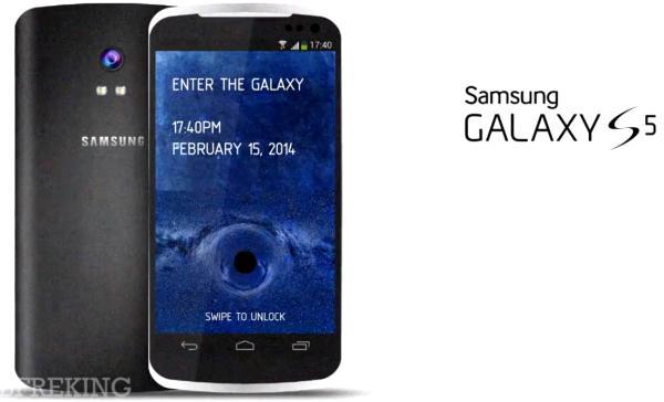 Conceito do futuro Galaxy S5 (Foto:Reprodução/PhonesReview)