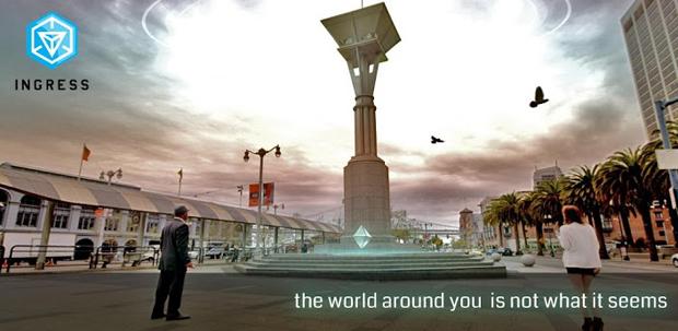 Ingress é um misto de MMORPG com realidade aumentada (Foto: Divulgação)