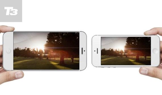 Vídeo produzido pela revista de gadgets T3 mostra o possível foblet da Apple. (Foto: Reprodução / T3)